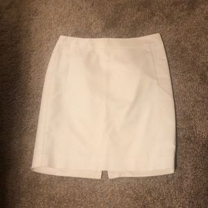 The Limited white pencil skirt.
